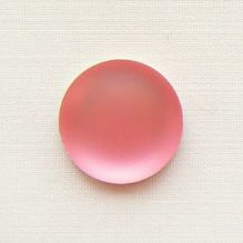 14mm Round Lunasoft Cabochon Watermelon - 1